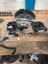 Peugeot 206 1.6 Lock Kit Set ECU + Transponder And Key 9662560580