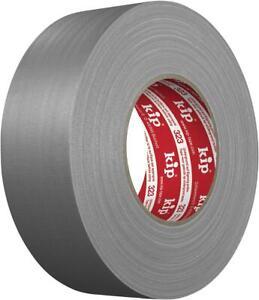 Kip Gaffer´s Tape Gewebeband 50m lang 50mm Breit Grau Klebeband Panzertape Gaffa