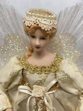 More details for porcelain doll tree angel