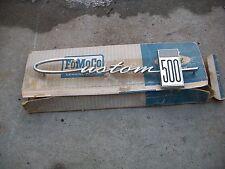 1964 Ford Custom 500 Show Quality NOS Emblem FoMoCo number C4AB-62281A36F