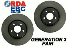 For Toyota Cressida MX73 8/1984-8/1988 REAR Disc brake Rotors RDA722 PAIR