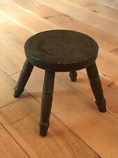 Antique Small Solid Wood Stool