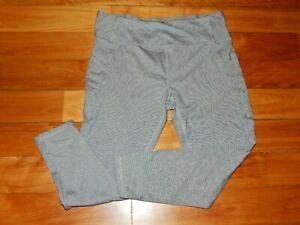Women's Gray Athletic Lounge Joggers Pants - Danskin - XL - Pinstriped, SKINNY