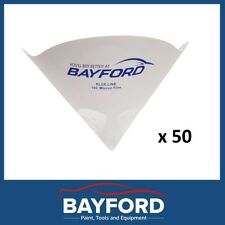 FINE PAPER NYLON PAINT STRAINERS STRAINER 190 MICRON - QTY 50 BAYFORD PAINT