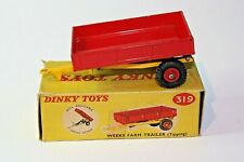 Dinky 319 Weeks Tipping Trailer Mint Condition in Original Type 1  Box