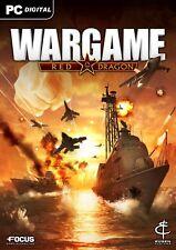 Wargame Red Dragon (PC 2014. sólo Steam key descarga código) no DVD, Steam key only