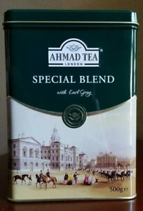 Ahmad Tea London Special Blend with Earl Grey 500gram / 17.6 oz Tin Box