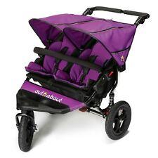 Out n About Nipper V4 poussette double poussette bébé-à 4 ans-Purple Punch