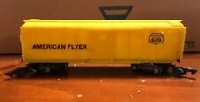 American Flyer Model 639 American Flyer Reefer, yellow plastic