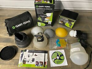 Gary Fong Lightsphere Fashion & Commercial Lighting Kit With Extras!