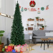 Costaway Artificial Christmas Tree Xmas Decoration Trees 8FT 240cm, Green