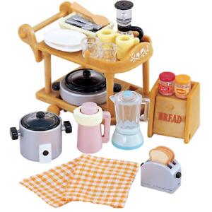 Sylvanian Families Mini Kitchen Cookware Furniture Set Accessories Kids Toys 3+