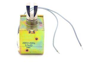 1x Magnete Del Treno 220V ~ 50Hz, 5% Ed (Solenoide, Magnete, 230V