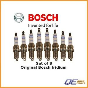 8 Spark Plugs Bosch Iridium 9603 for Toyota Celica Land Cruiser Tundra Volvo
