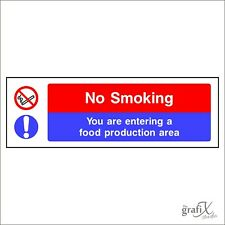 Self Adhesive Vinyl Against The Law To Smoke Prohibition Sign VSafety No Smoking No Smoking 150mm x 200mm