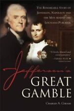 JEFFERSON'S GREAT GAMBLE - CHARLES A. CERAMI (PAPERBACK)