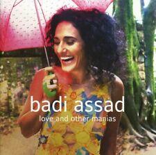 BADI ASSAD - LOVE AND OTHER MANIAS  CD NEW
