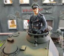 Kommandant Deutsche Panzer Besatzung  Figur 1:16  mit ansteckbaren Beinen F1012