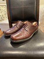 ECCO Helsinki Mens Brown Leather Oxford Style Shoes EU 47 US 13 - 13.5
