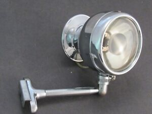 1930 's 1940 's Vintage Accessory Door Mount Mirror and Spotlight