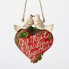 """Jim Shore """"Our First Christmas Together"""" Ornament ~ New ~ Great Gift Idea!"""
