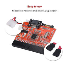 40 Pin IDE to SATA Converter Adapter Bi-Directional HDD Conversion Board Card LJ