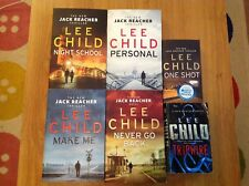 Lee Child Book Bundle Soft Covers Large and small;Tripwire;One Shot;Make Me