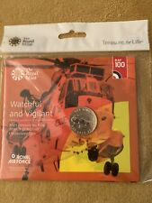 2018 RAF CENTENARY SEA KING £2 POUND COIN BU ROYAL MINT SEALED PACK