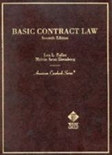 Basic Contract Law (American Casebook Series)-ExLibrary