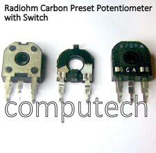 Trimmer potenziometro orizzontale 470 ohm 14x14mm con terminali a saldare