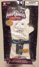 Power Rangers White Ranger Electronic Gloves Movie Sounds