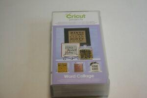 Provo Craft Cricut Font Cartridge Word Collage