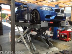 Tracking on Hunter 4 Wheel Alignment System, Discount (F1 Tyres Essex Rm6 6lu)