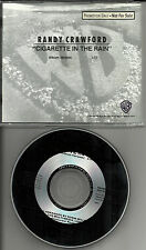 RANDY CRAWFORD Cigarette in the Rain 1989 PEROMO RADIO DJ CD single 1989