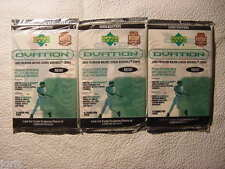 3 new baseball PACKs 2000 UPPER DECK OVATION - Ken Griffey UD piece of history