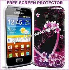 HARD BACK COVER CLIP ON CASE SKIN FOR SAMSUNG GT-I8160 GALAXY ACE 2 + SP
