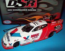 Fast Jack Beckman 2013 Valvoline Signed Autograph DSR NHRA Funny Car 1/24 Rare