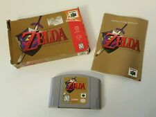 Legend of Zelda: Ocarina of Time for Nintendo 64 - With Box Instruction Booklet
