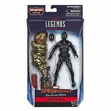 Spider-Man Legends Series Spider-Man Black Figure Hasbro