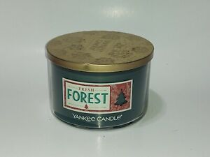 """Yankee Candle 3-Wick  Candle """"Fresh Forest"""" 18 Oz"""