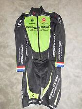 Castelli US Meister Team Cannondale SRAM Zipp thermo Einteiler / Skinsuit Gr. L