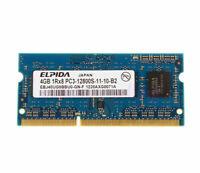 Elpida 4GB DDR3 1RX8 PC3-12800S 1600mhz 204pin SODIMM Laptop Memory RAM 1600 @MY