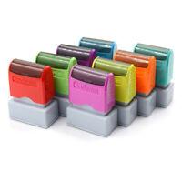custom pre self inking office company personalized return address rubber stam JB