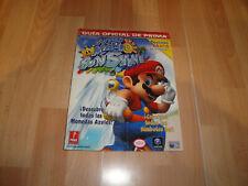 Super Mario Sunshine guia oficial de prima Nintendo Game Cube nueva postales