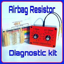 Airbag test / bypass kit +100 resistors swivel seat motorhome campervan captain