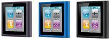 iPod Nano 6th Gen 6g Belkin Silicone Soft TPU Rubber Sleeve Case Black Grey Blue