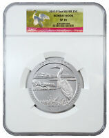 2015 P 5 oz Specimen Silver ATB America Beautiful Bombay Hook NGC SP70 SKU39001