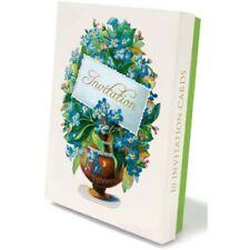 10 Invitation Cards & Envelopes (Forget-me-not design)  -  5015278253190