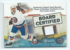 2001-02 Fleer Greats of the Game Mike Bossy Board Certified GU RELIC ISLANDERS