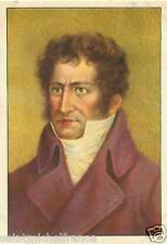 Georges Cuvier Naturalist Zoologist  IMAGE CHROMO 20s